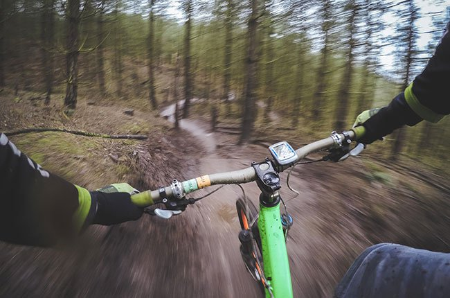 Mountainbike-Verleih